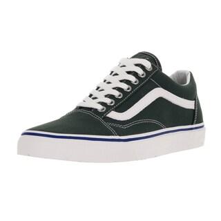 Vans Unisex Old Skool Green Gables/True White Skate Shoe