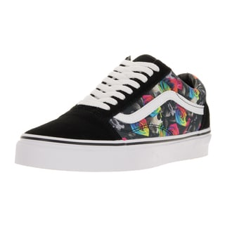 Vans Unisex Old Skool (Rainbow Floral) Black/True White Skate Shoe