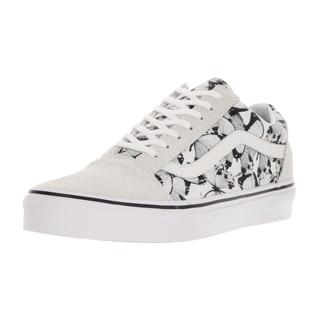 Vans Unisex Old Skool (Butterfly) True White/Black Skate Shoe