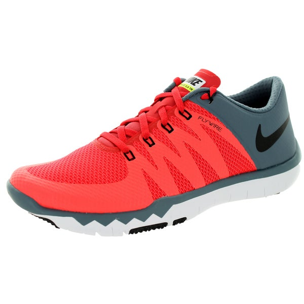 premium selection 93e5d cb4b9 Shop Nike Men s Free Trainer 5.0 V6 Daring Red Black Blue Graphite Running  Shoe - Free Shipping Today - Overstock - 13395011