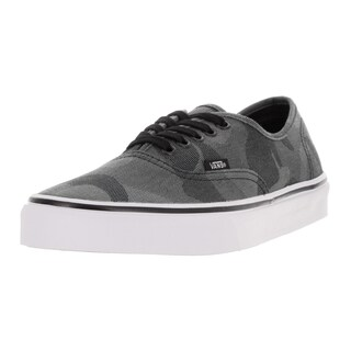 Vans Unisex Authentic (Camo Jacquard) Black/True Skate Shoe