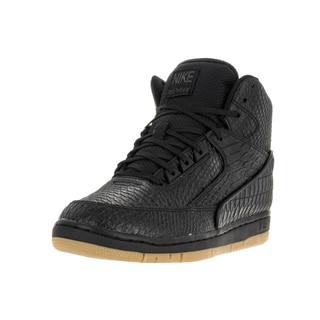 Nike Men's Air Python Prm Black/Gum Light Brown Basketball Shoe