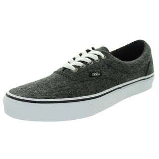 Vans Unisex Era (Tweed) Black/True White Skate Shoe