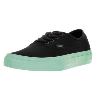 Vans Unisex Authentic (Pop Sole) Black/Outsole Skate Shoe