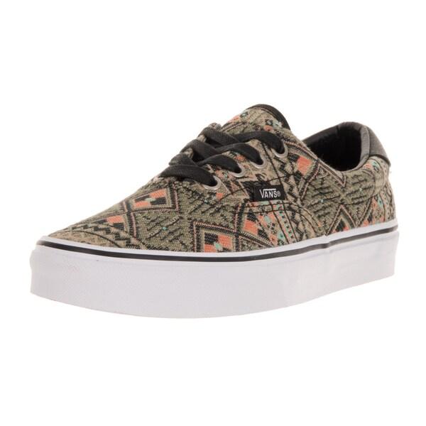 2eb684b191 Shop Vans Unisex Era 59 (Moroccan Geo) Black Ivy Green Skate Shoe ...