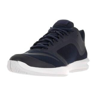 Nike Men's Ballistic Advantage Obsidian/Obsidian/White/Lyl Bl Tennis Shoe