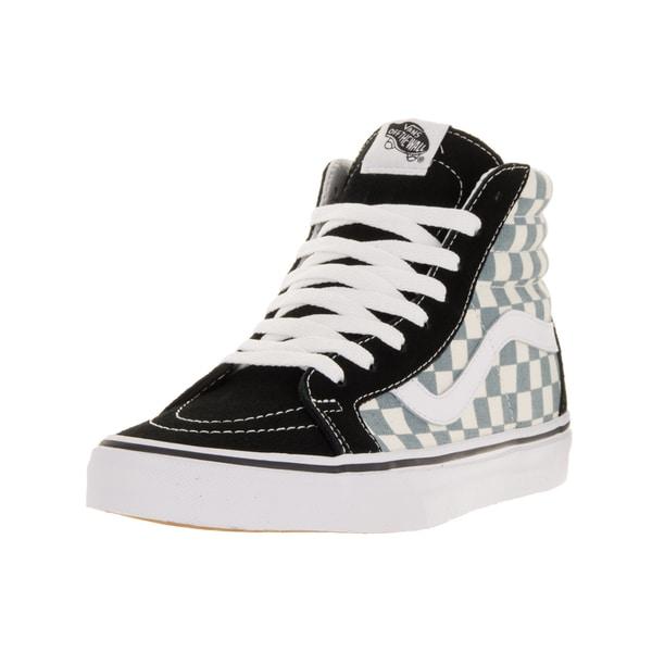 2d7ddc91cf Shop Vans Unisex Sk8-Hi Reissue (Checkerboard) Black Citadel Skate ...
