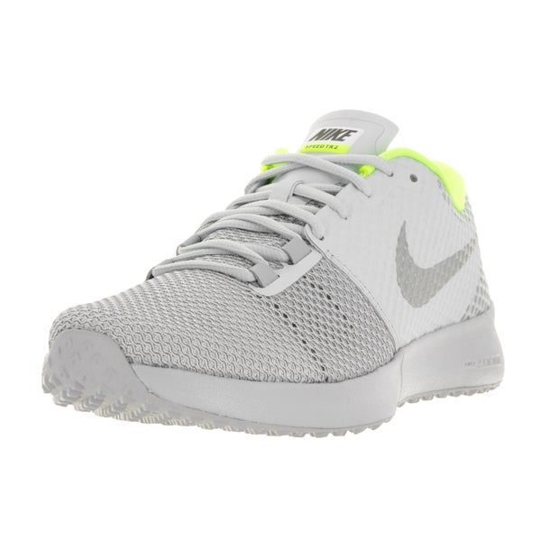 the best attitude 0df3a b28d0 ... best nike menx27s zoom speed tr2 pure platinum metallic silver and  6e22c b2078