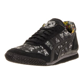 Onitsuka Tiger Unisex Ultimate 81 Black Fabric Casual Shoe