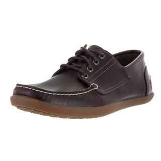 Timberland Men's Odelay 4 Eye Camp Burgundy Oxford Shoe