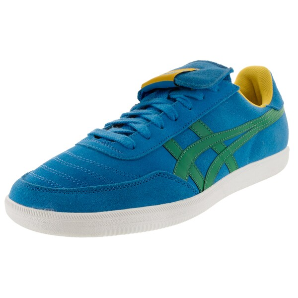 promo code 92fc2 a646a Shop Onitsuka Tiger Unisex Hulse Mid Blue/Green Suede Casual ...