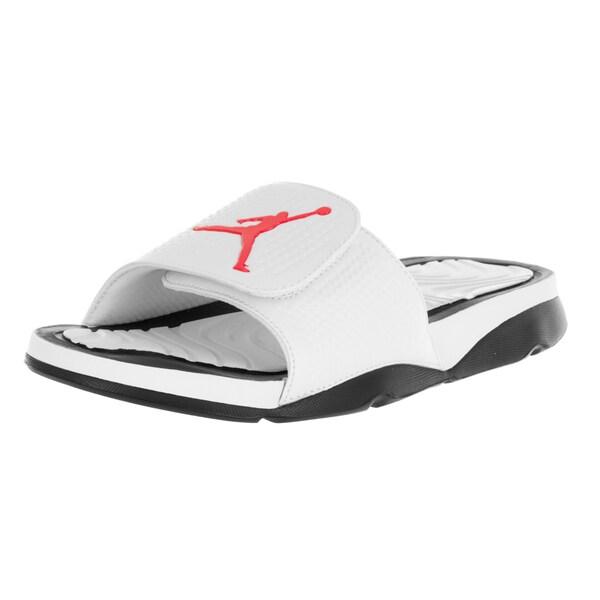 098f71e06f56b4 ... Men s Shoes     Men s Sandals. Nike Jordan Men  x27 s Jordan Hydro 5  White Infrared 23 Black