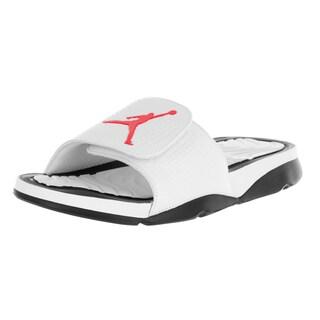 Nike Jordan Men's Jordan Hydro 5 White/Infrared 23/Black Sandal
