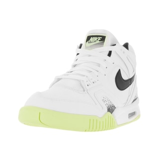 Nike Men's Air Tech Challenge II White/Black/Liquid Lime Tennis Shoe