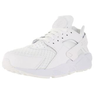Nike Men's Air Huarache White/White/Pure Platinum Running Shoe