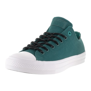 Converse Unisex Chuck Taylor All Star II Ox Cool Jade/Wh Casual Shoe