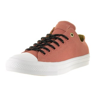 Converse Unisex Chuck Taylor All Star II Ox Pink Blush Textile Casual Shoe