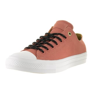 Converse Unisex Chuck Taylor All Star II Ox Pink Blush Textile Casual Shoe|https://ak1.ostkcdn.com/images/products/13395260/P20091995.jpg?impolicy=medium