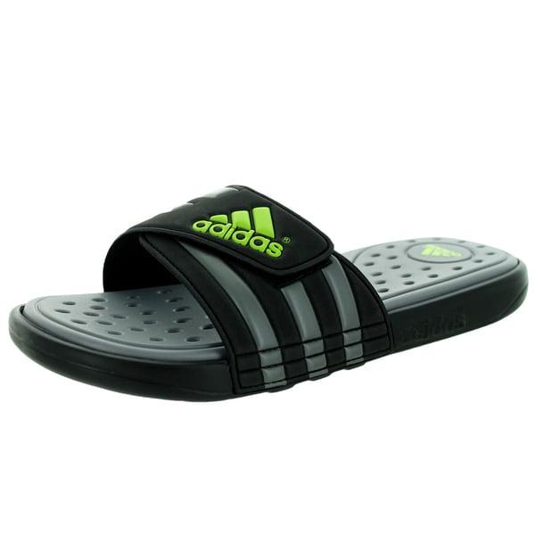 Adidas Men's Adissage SC Black1/Solsli