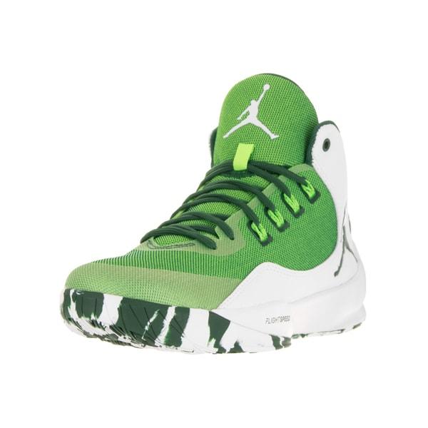 finest selection 5d1f0 a25a9 Shop Nike Jordan Men's Jordan Rising High 2 Grg Grn/Grg Grn ...
