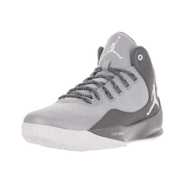 4998d7285fdbff Shop Nike Jordan Men s Jordan Rising High 2 Wolf Grey Wht Cl Gry ...