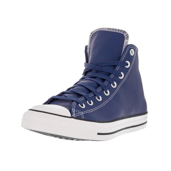 Converse Unisex Chuck Taylor All Star Hi Roadtrip Blue Casino White  Basketball Shoe f5f9549aa