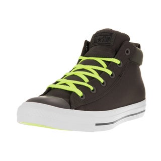 Converse Unisex Chuck Taylor All Star Street Mid Cast Iron/Wh Casual Shoe