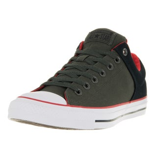 Converse Unisex Chuck Taylor All Star Street Green/Black Cavas Casual Shoe