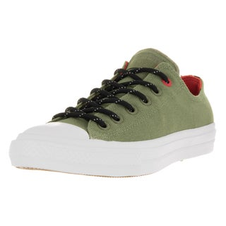 Converse Unisex Chuck Taylor All Star II Green Canvas Basketball Shoe
