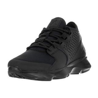 Men's Nike Jordan Flow Black Leather Cross-Training Shoes