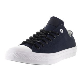 Converse Unisex Chuck Taylor All Star II Ox Obsidian/White/Gum Casual Shoe