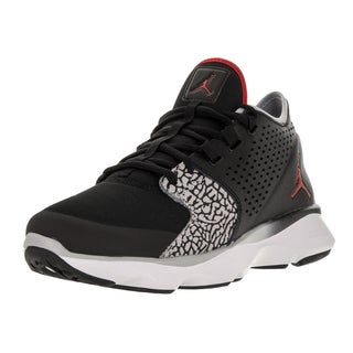 Nike Jordan Men's Jordan Flow Black/Gym Red/White/Wolf Grey Training Shoe