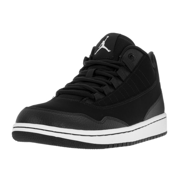 544c6306c74 Nike Jordan Men  x27 s Jordan Executive Low Black White White Casual Shoe