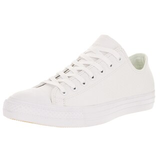 Converse Unisex Chuck Taylor All Star Ox White/White Casual Shoe