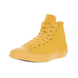 Converse Unisex Chuck Taylor All Star Hi Aurora Yellow Basketball Shoe