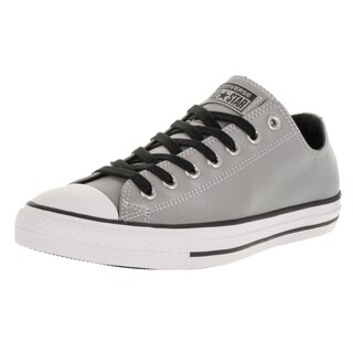 Converse Unisex Chuck Taylor All Star Ox Silver/Black Basketball Shoe