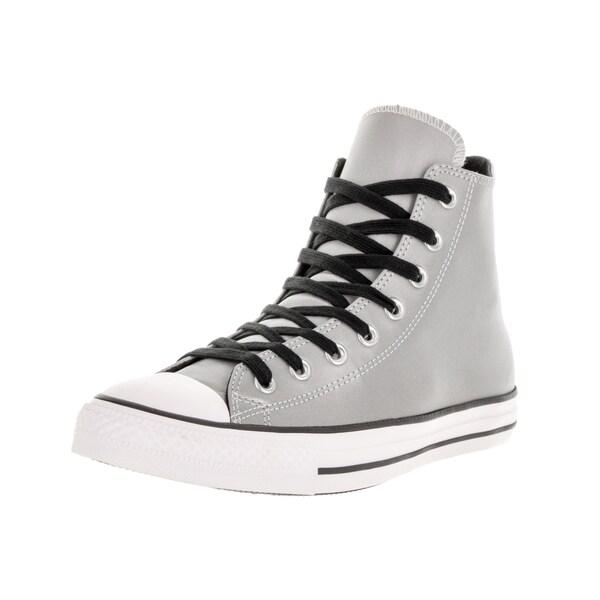 f25290ea83d5 Converse Unisex Chuck Taylor All Star Hi Silver Black Basketball Shoe