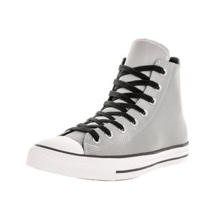 Converse Unisex Chuck Taylor All Star Hi Silver/Black Basketball Shoe