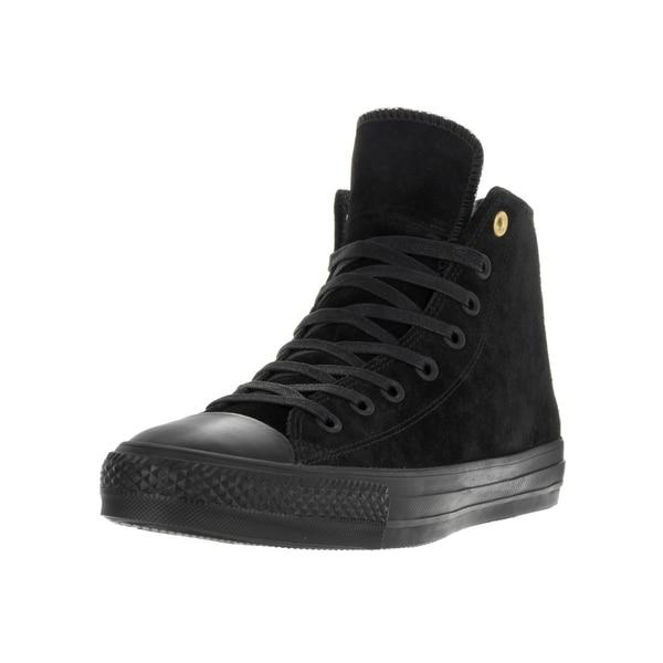 Shop Converse Unisex Chuck Taylor All Star Pro Hi Black Black Skate ... 37f93868d