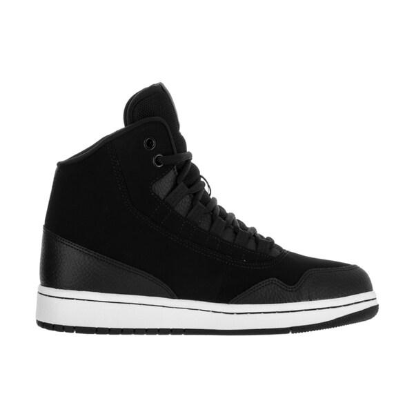 Shop Nike Jordan Men's Jordan Executive BlackWhite White