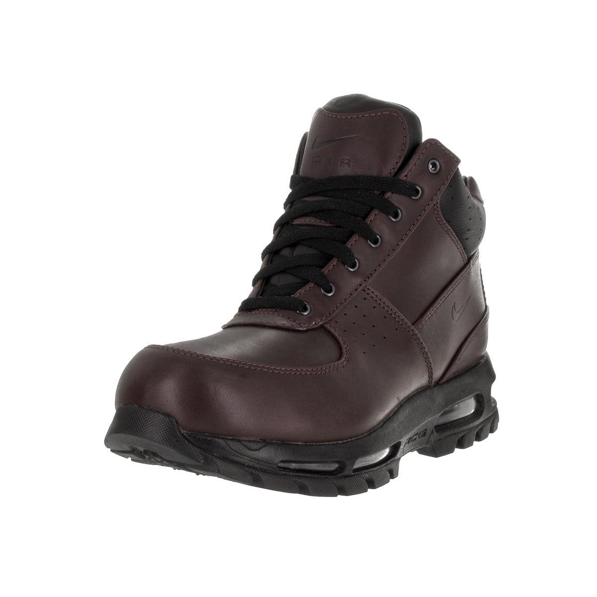 Nike Men's Air Max Goadome Deep Burgundy/Black Boot (8.5)...
