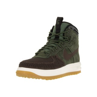 Nike Men's Lunar Force 1 Duckboot Baroque Brown/Army Olv Blk Sl Boot