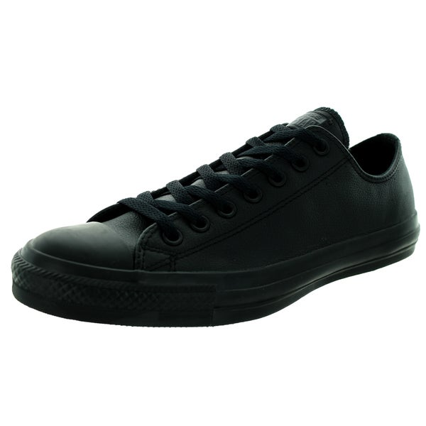 81154dac201b Shop Converse Unisex Chuck Taylor As Ox Black Mono Basketball Shoe ...