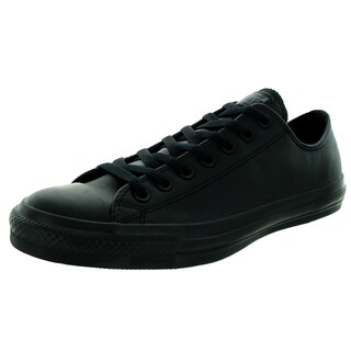 Converse Unisex Chuck Taylor As Ox Black Mono Basketball Shoe (2 options available)