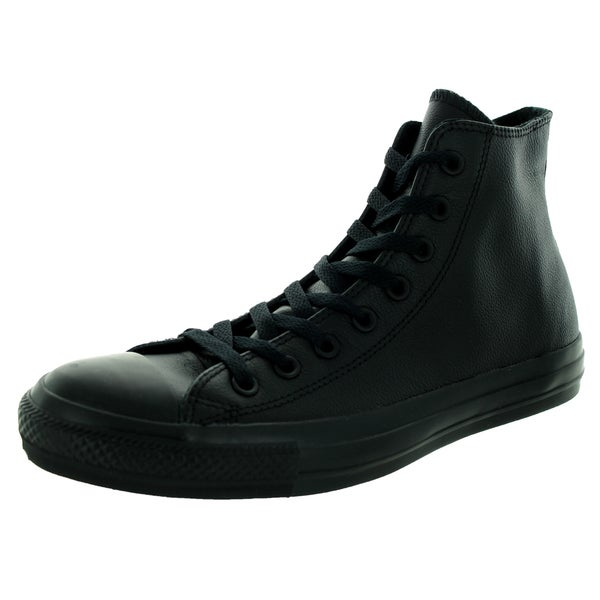 Shop Converse Unisex Chuck Taylor As Hi Black Mono Basketball Shoe ... e851cbf04