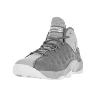 Nike Jordan Men's Jordan Jumpman Team II Cool Grey/White Wolf Grey Basketball Shoe