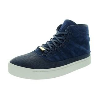 Nike Men's Jordan Westbrook 0 Mid Navy/White/Blk/Lght Bn Suede Casual Shoe