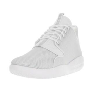 Nike Jordan Men's Jordan Eclipse White, Metallic Silver, and Pure Platinum Textile Running Shoes