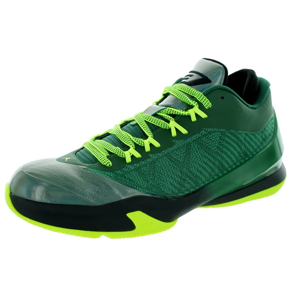 the best attitude 60785 9db9a Shop Nike Jordan Men s Jordan CP3.VIII Gorge Green Volt Black Tr Yllw  Basketball Shoe - Free Shipping Today - Overstock - 13395467