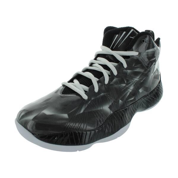 buy popular acc96 8db52 Nike Air Jordan 2012 Lite EV (AnthraciteWhiteBlack) Basketball Shoe 8 ...